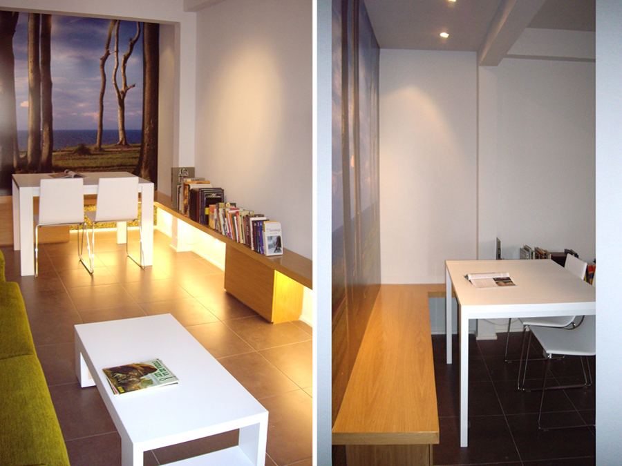 BOSQUE INTERIOR: bosque en vivienda 2